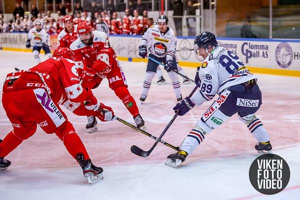 Spartas spiller Eirik Børresen i kampen mellom Stjernen og Sparta. Foto: Thomas Andersen