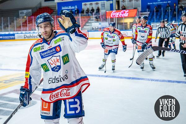 Lillehammers spiller Austin Cangelosi jubler for 1-0 i kampen mellom Sparta og Lillehammer. Foto: Thomas Andersen - www.vikenfotovideo.no