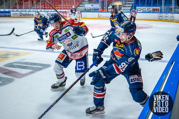 Spartas spiller Samuel Salonen i kampen mellom Sparta og Lillehammer. Foto: Thomas Andersen - www.vikenfotovideo.no