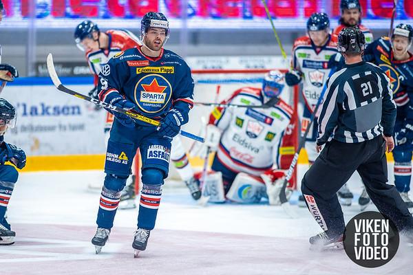 Spartas spiller Anders Tangen Henriksen i kampen mellom Sparta og Lillehammer. Foto: Thomas Andersen - www.vikenfotovideo.no