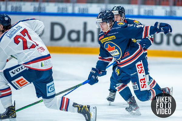 Spartas spiller Even Myreng Kjellesvik i kampen mellom Sparta og Lillehammer. Foto: Thomas Andersen - www.vikenfotovideo.no