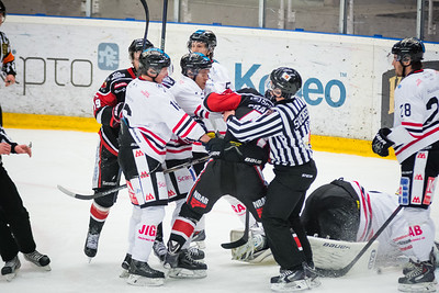 Nybro Vikings vs HC Dalen 150103