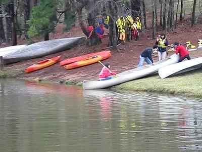 Tejas Canoes at Rockin C Ranch