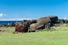 Moai Paro en Te Pito Kura