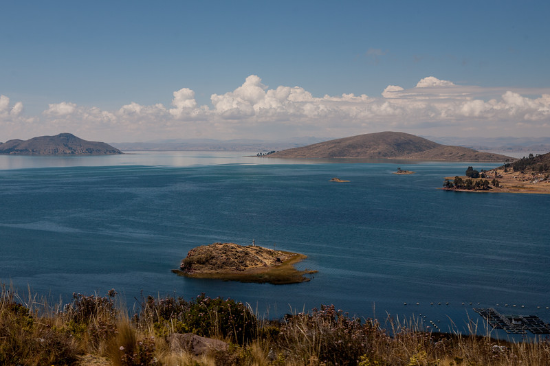 Boat ride from Copacabana to Isla del Sol on Lake Titicaca