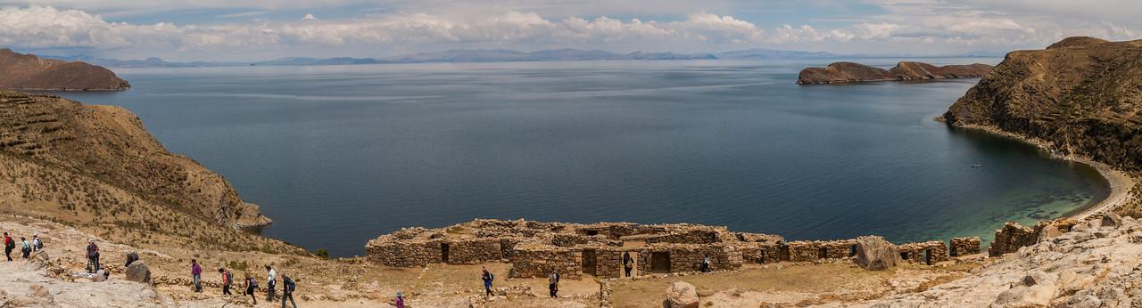 Incan ruins at Challapampa, Bolivia