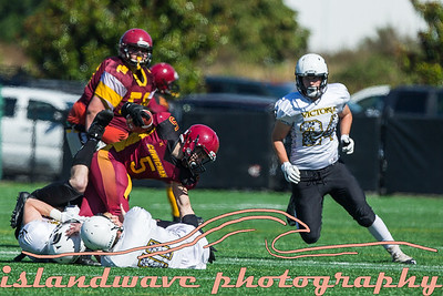 Spartan vs Cowichan Midget Football