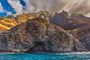 Sea Cave Na Pali Coast Kauai