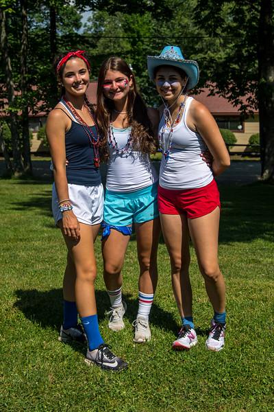 July 4th Celebration at Island Lake Camp