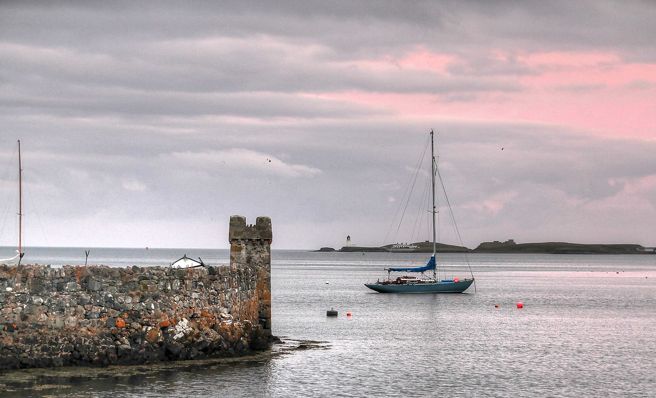 View from Cuddy Point, Stornoway Harbour