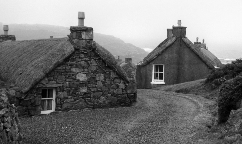 Gearannan Village, Isle of Lewis (other size: 20x12)