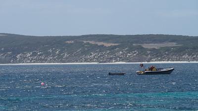 Anchored at Emu Bay
