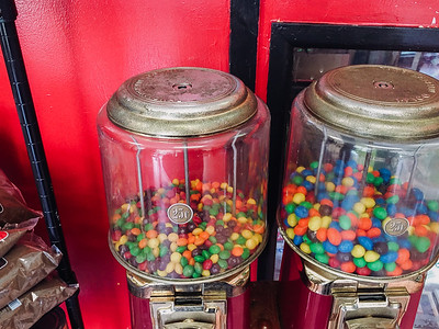 Old Fashioned Candy Dispensers -  Island Restaurant, Hammocks Town Center