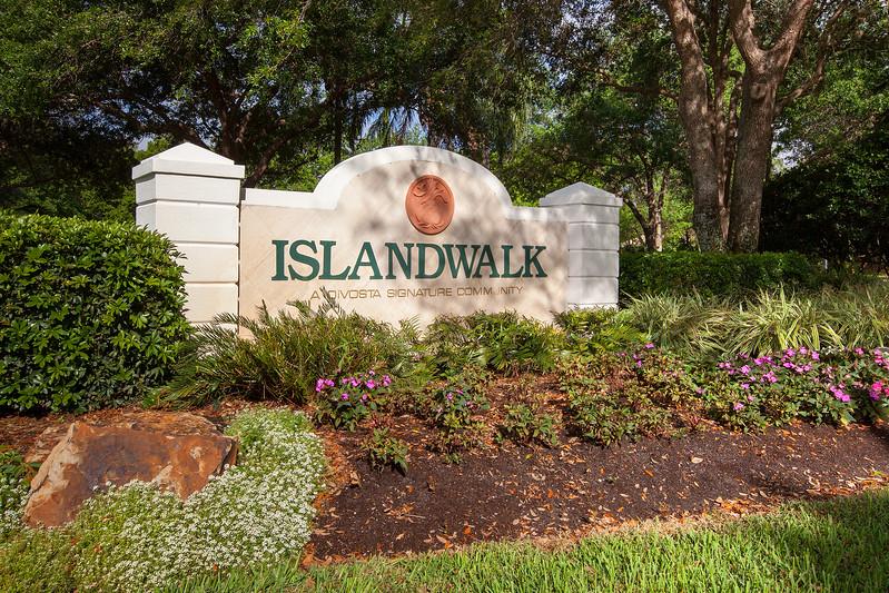 Island Walk Sign