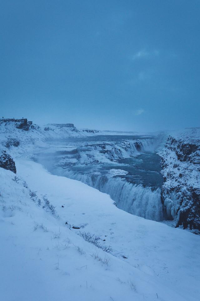 Gullfoss waterfall,  Hvítá canyon, Golden Circle