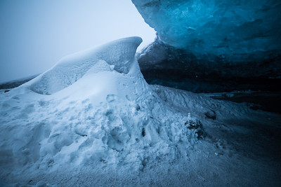 Ice cave, Glacier, Vatnajökull National Park