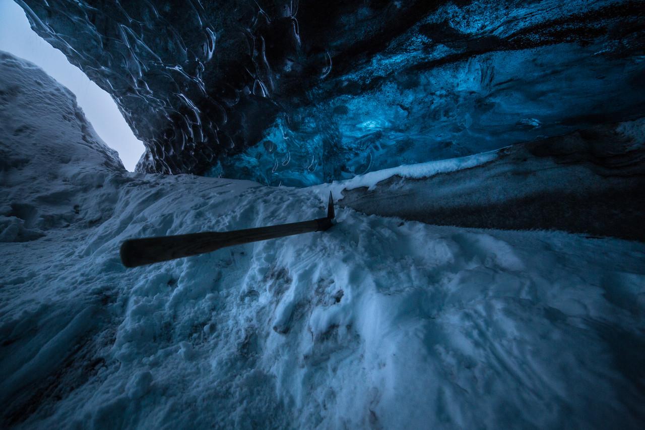 Ice cave, Vatnajökull National Park