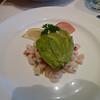 Avocado and bay shrimp with lemoncello mayonnaise