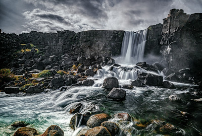 oxararfoss , Islande