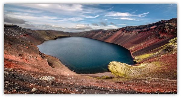 Lac Hnausapollur, Islande