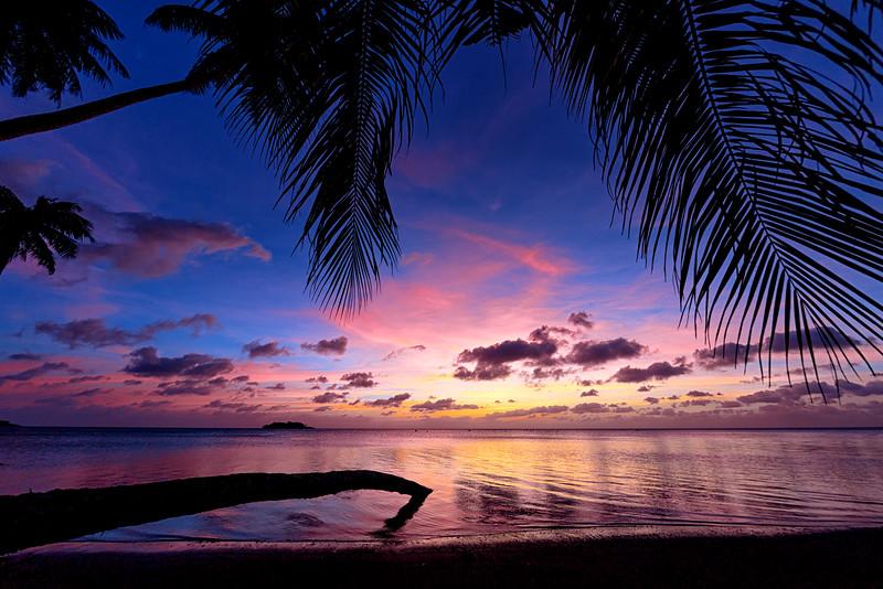 Nimitz Beach Park Sunset  ©2016  Janelle Orth