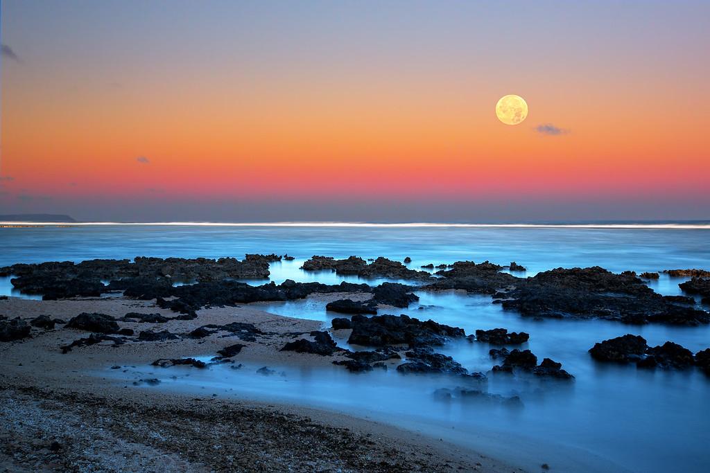 Moon Tide  ©2016  Janelle Orth