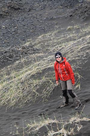 Na szlaku w parku narodowym Jökulsárgljúfur