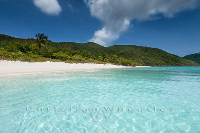 GI 001 White Bay, Guana Island, British Virgin Islands