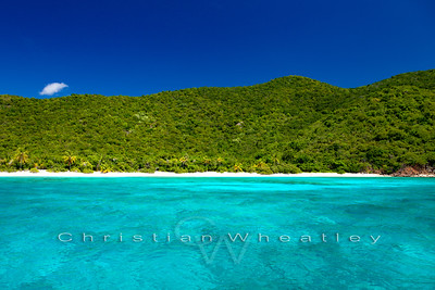 Guana Island, White Bay