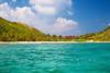 Peter Island, British Virgin Islands seen from the water