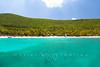 Peter Island, British Virgin Islands seen from the boat
