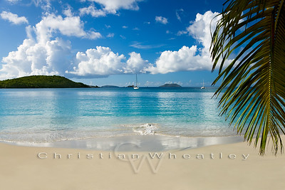 STJ 021 Gibney Beach, St. John, US Virgin Islands (W014)