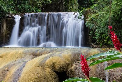 Y S Falls, Jamaica-upper