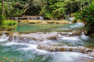 Y S Falls, Jamaica-lower falls
