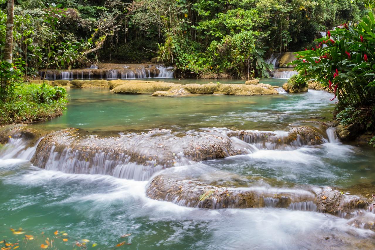 Y S Falls, Jamaica-lower falls