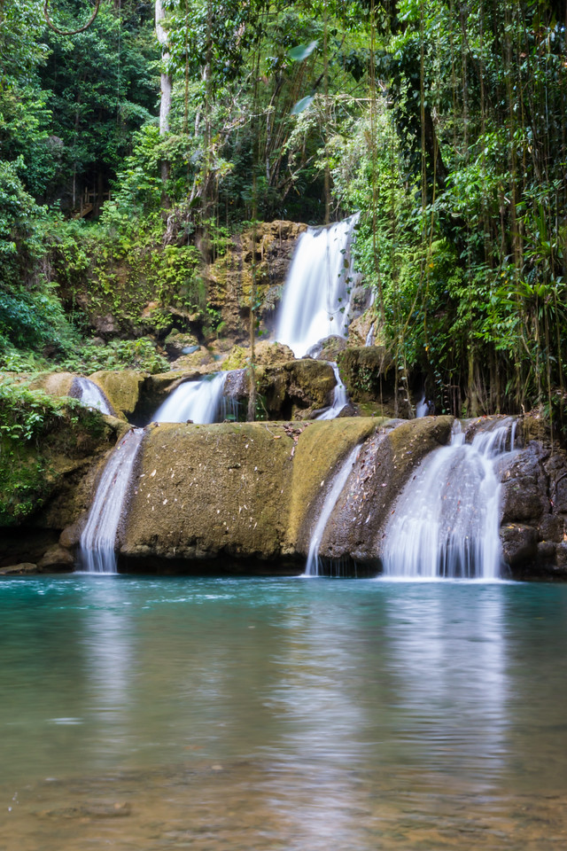Y S Falls, Jamaica-middle