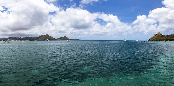 Rodney Bay panorama