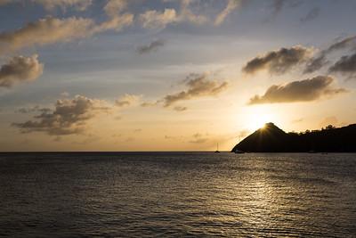 Pigeon Island Sun