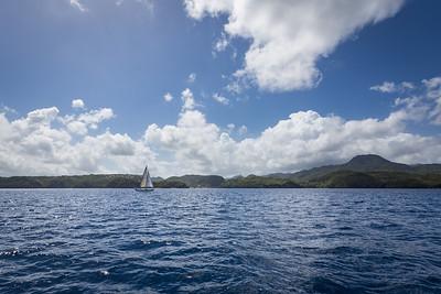 Sailing St Lucia