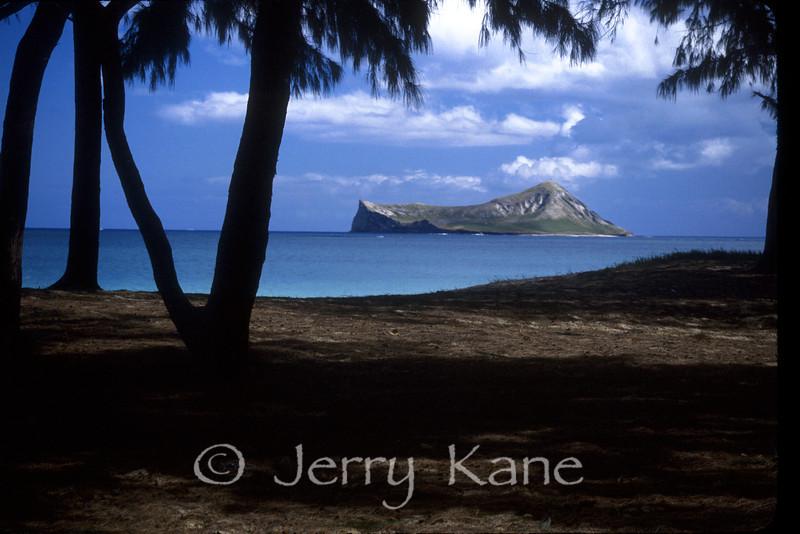 Manana Island off Waimanalo, Oahu, Hawaii
