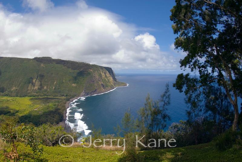Waipio Valley on windward Big Island, Hawaii