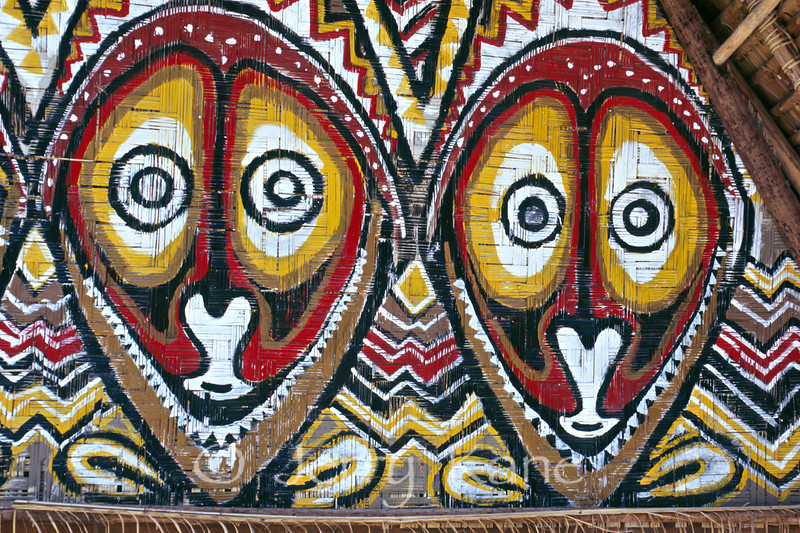 Wall Painting - Honiara, Solomon Islands