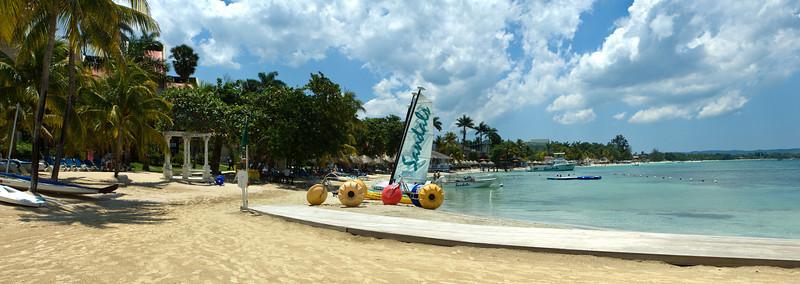 Stitched Panorama Negril, Jamaica