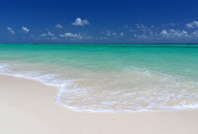 Cable Beach, Nassau, in the Bahamas
