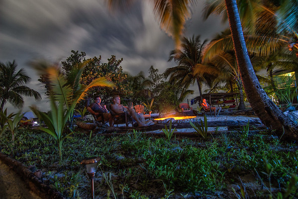 South Water Caye at Night