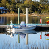 Boat Reflections Isle Of Palms Marina