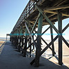 Isle of Palms Pier From Underneath