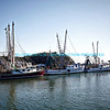 Shrimp Boats Docked At Shem Creek