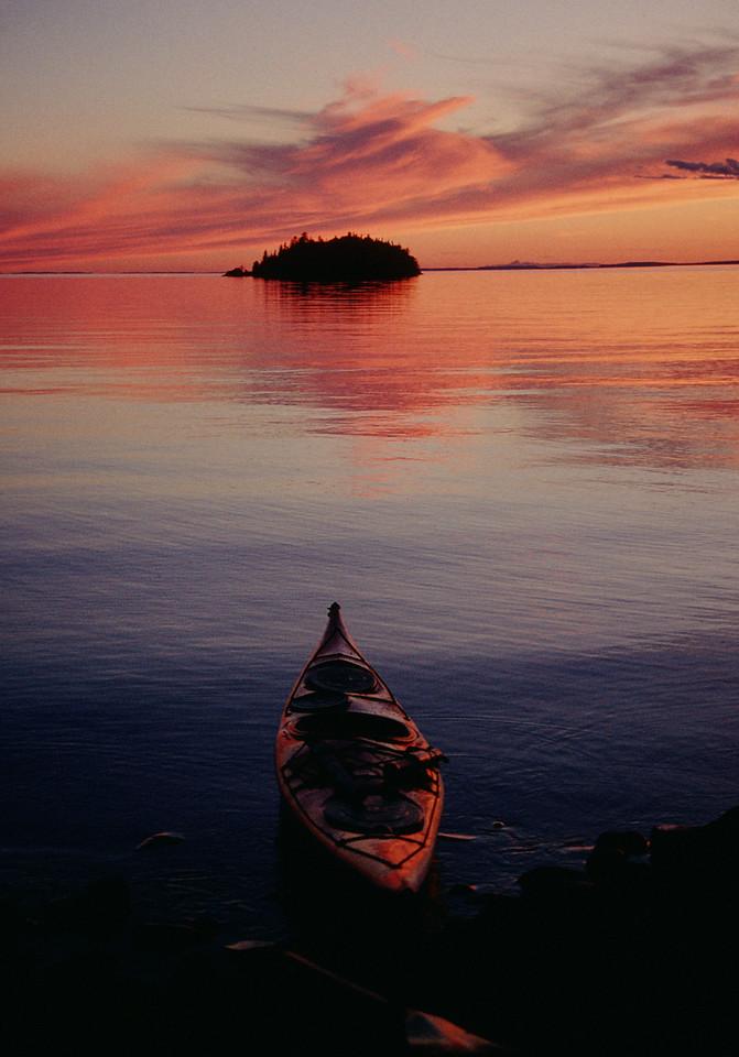 Round Island Sunset
