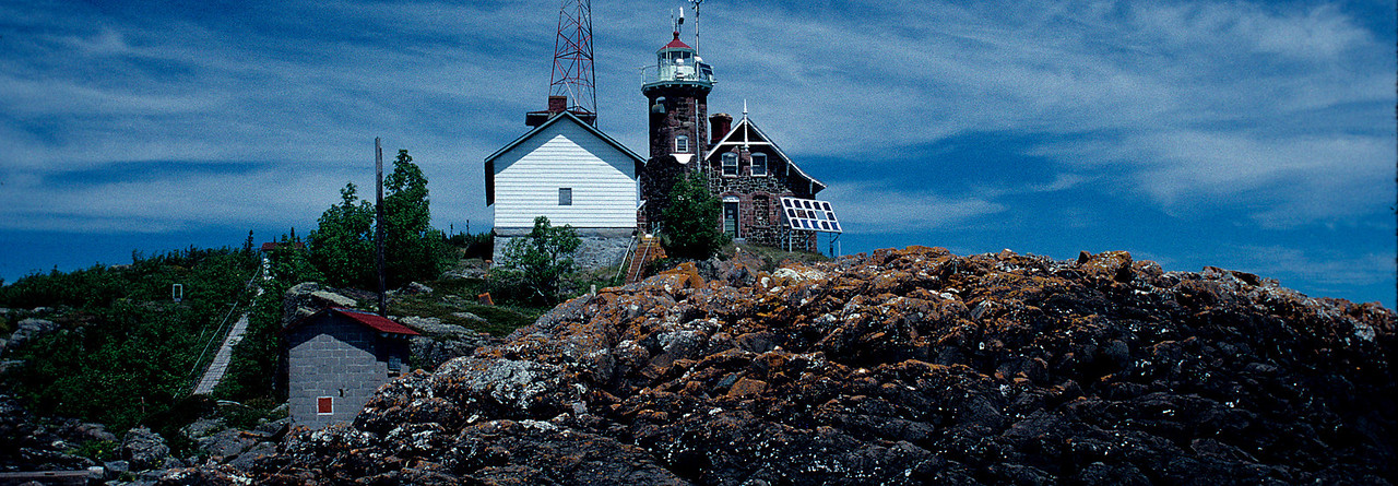 Passage Island Lighthouse
